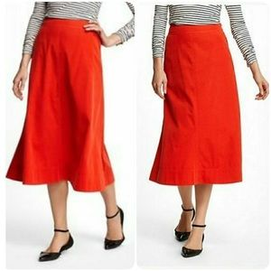 •Anthropologie• Vanessa Virginia Corduroy Skirt